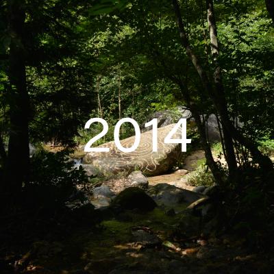 信濃の国 原始感覚美術祭2014 ―水のうたがき